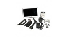 "HD4000K-M - 4K, 8MP, HDMI, Ethernet/LAN, and USB3.0 Dual Channel with 11.8"" Monitor Real-time Live Stitching and EDF"