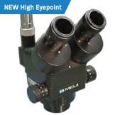 EMZ-13TRH/BLACK (1.0x - 7.0x) Trino Zoom Stereo Body, High Eyepoint Capability Working Distance 90mm