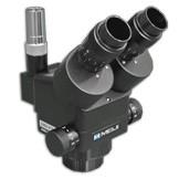 EMZ-8TR/BLACK (0.7x - 4.5x) Trinocular Zoom Stereo Body, Working Distance 104mm