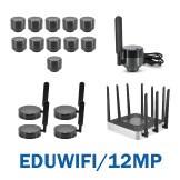 EDUWIFI/12MP- 12.0MP Micro WiFi Educational System Package - 11 WF12MP/EDU + 1 WF12MP/EDU/TEACHER