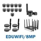 EDUWIFI/8MP- 8.0MP Micro WiFi Educational System Package - 11 WF8MP/EDU + 1 WF8MP/EDU/TEACHER