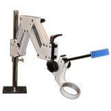 CR-2 Articulated Arm Stand with 84.5mm coarse focus block with head rest