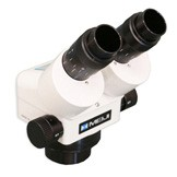"EMZ-10 (0.7x - 4.5x) Binocular Zoom Stereo Body, Greenough Design, Working Distance 4.3"" (110mm), Microscope Body"