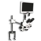 "EMZ-5TR + MA502 + F + S-4500 + MA151/35/03 + HD1500MET-M (WHITE) (7X - 45X) Stand Configuration System, Working Distance: 93mm (3.66"")"