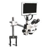 """EMZ-8TRH + MA522 + FS + S-4600 + MA151/35/03 + HD1000-LITE-M (WHITE) (7X - 45X) Stand Configuration System, Working Distance: 104mm (4.09"""")"""