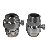 """MA151/10 C"""" Mount Adapter for all Compound Trinocular Microscopes (NO LENS)"""