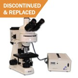 MT6300H Halogen/Mercury Trinocular Epi-Fluorescence Biological Microscope [DISCONTINUED]