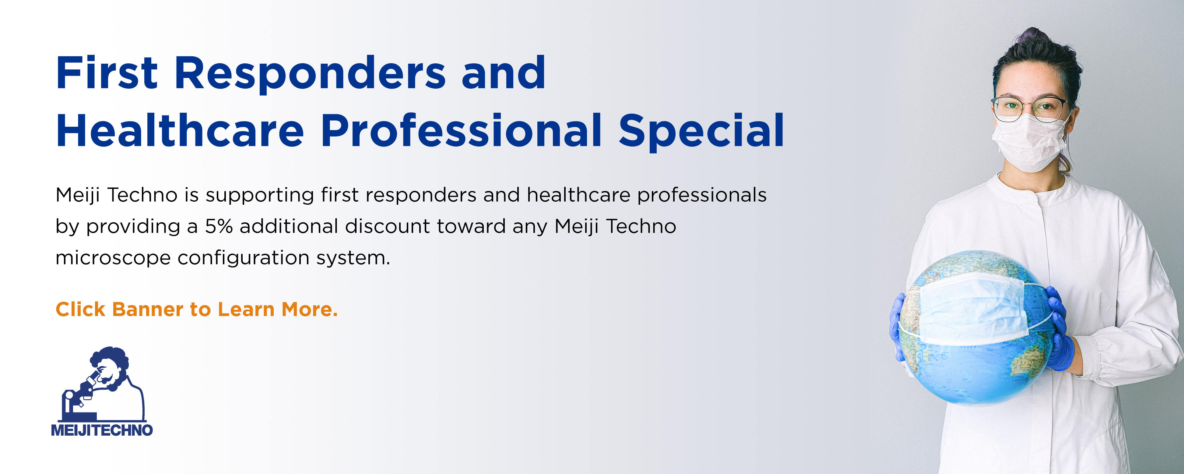 First Responders and Healthcare Professional Special