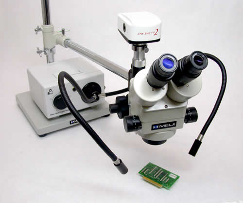 EMZ-8TR with FT191 and CC2100 Camera