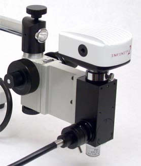 VM-035 with CC2100 Camera on S4100 Boom Stand
