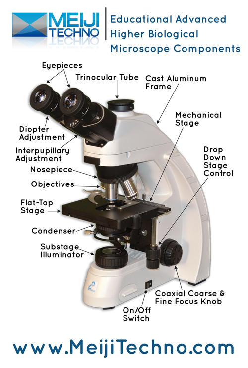 Eductional Advance Higher Biological Microscope