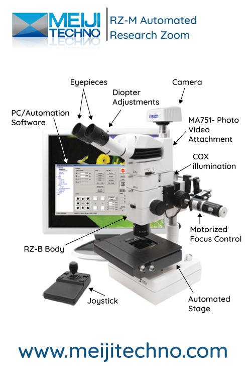 RZ-M Automated Research Zoom Microscope