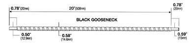 Black Gooseneck